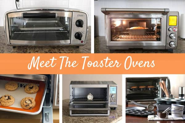 Grid showing variety of different toaster ovens.