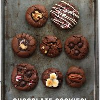 Small Batch Chocolate Cookies (8 Ways)