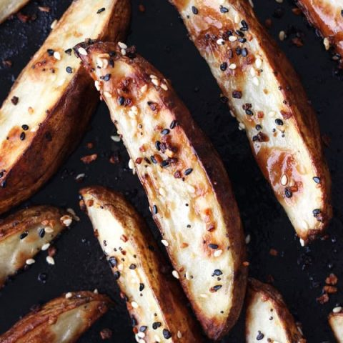 Toaster Oven Baked Potato Wedges Recipe