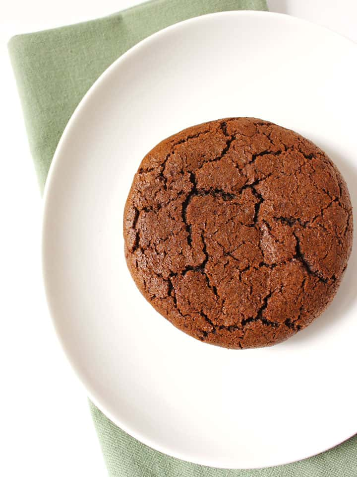 Chewy Molasses Spice Cookies for Two - Toaster Oven Love