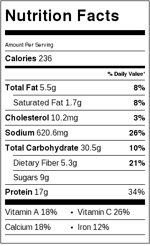 toaster-oven-spinach-lasagna-toast-nutritional-information
