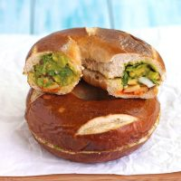 Hidden-Egg Bagel Sandwich