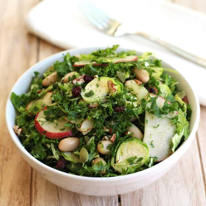 Quick Kale Apple Salad