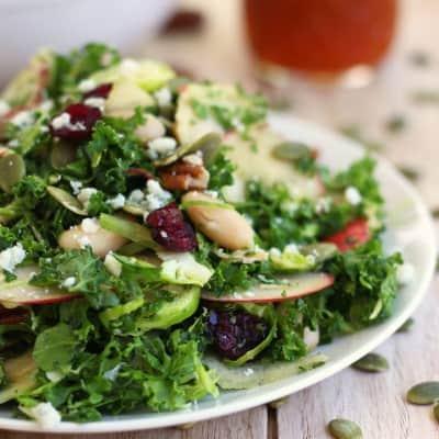Quick Kale Apple Salad
