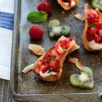 Potsticker Fruit Tacos