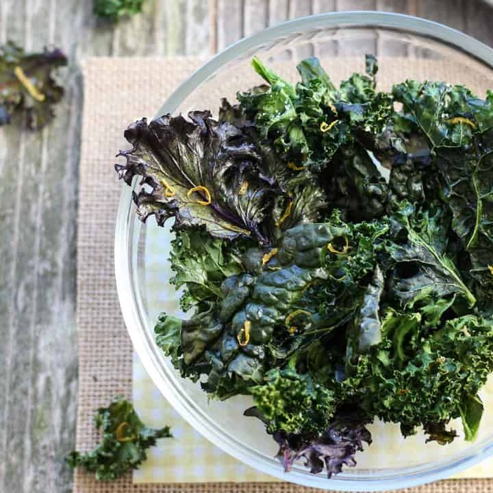 Toaster Oven Kale Chips Recipe