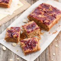 Small Batch Peanut Butter and Jelly Bars