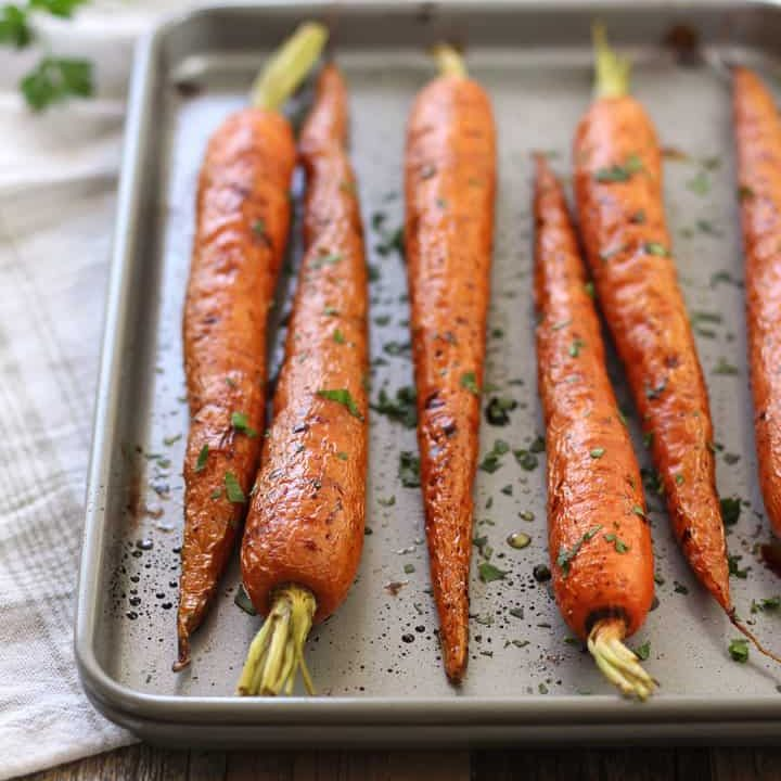 Toaster Oven Roasted Carrots Recipe