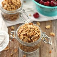Small Batch Almond Granola Recipe