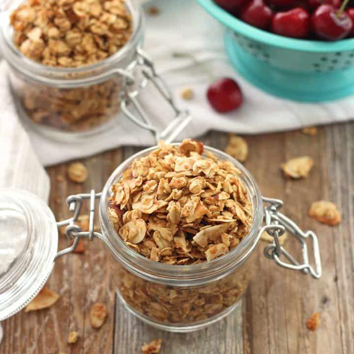 Small Batch Almond Granola Recipe