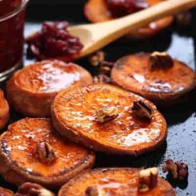 Addictive Roasted Sweet Potato Rounds