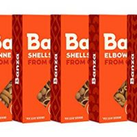 Banza Chickpea Pasta Variety Case (Shells, Elbows, Penne, Rotini) (Pack of 6)