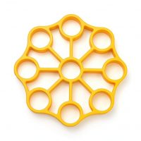 OXO 11244700 Silicone Egg Rack One Size Yellow