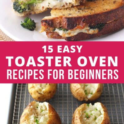Easy Toaster Oven Recipes for Beginners