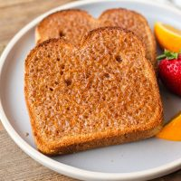 Toaster Oven Cinnamon Toast Recipe