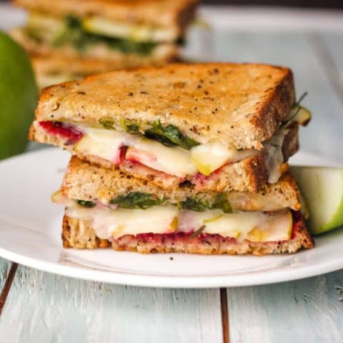 Grilled Cheese with Apple and Havarti