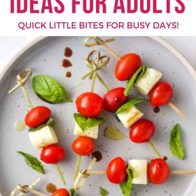 Healthy Snack Ideas For Adults