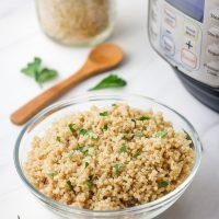 Instant Pot Mini Quinoa