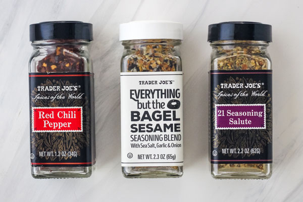 3 Jars of Spices and Seasonings
