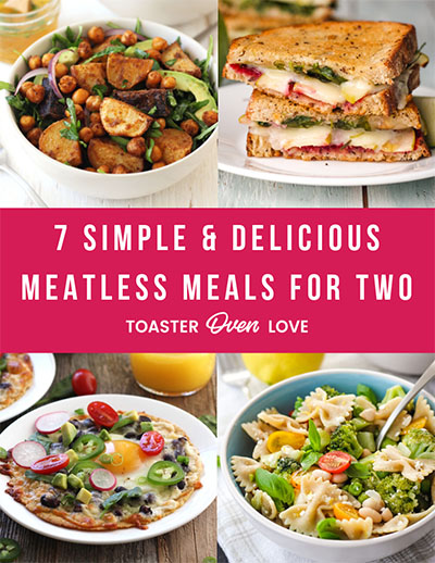 Ebook Cover For Meatless Meals