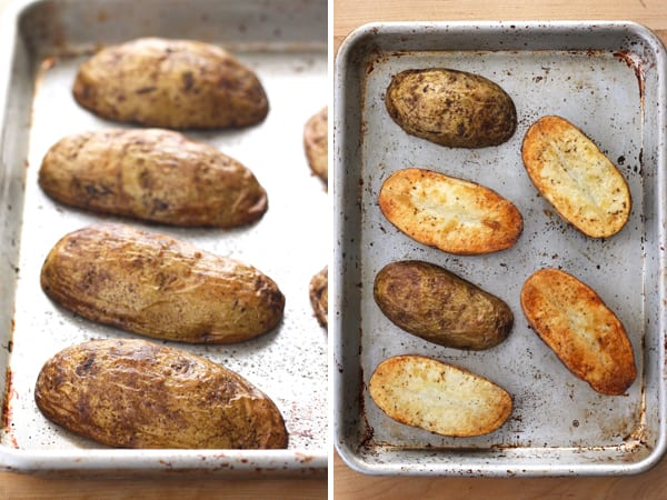 Quick Baked Potatoes Without Using A Microwave