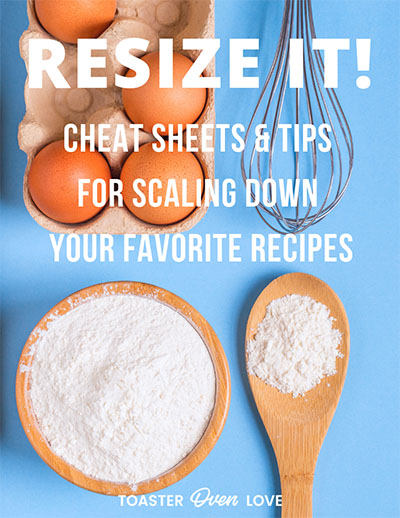 Resize Your Recipes Ebook Cover