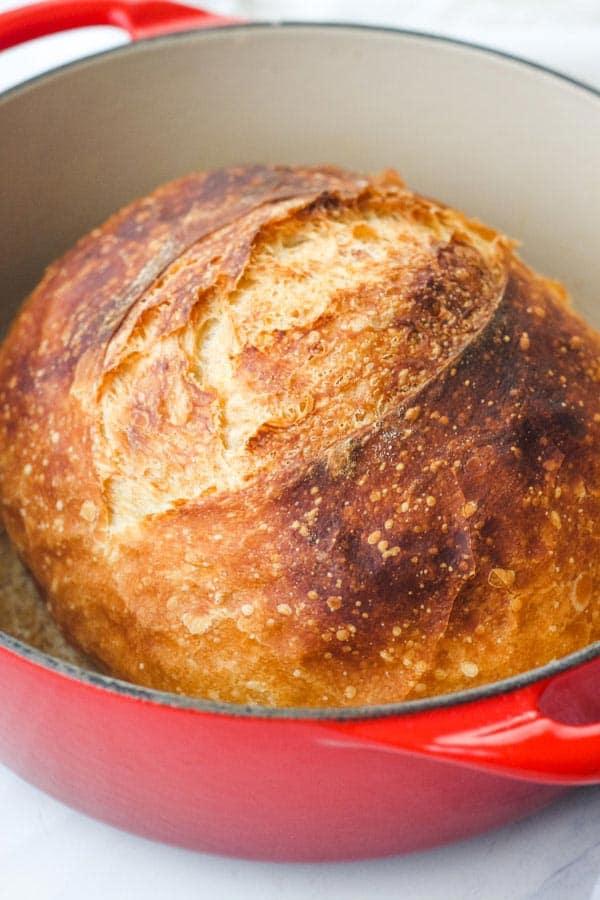 Small No Knead Bread