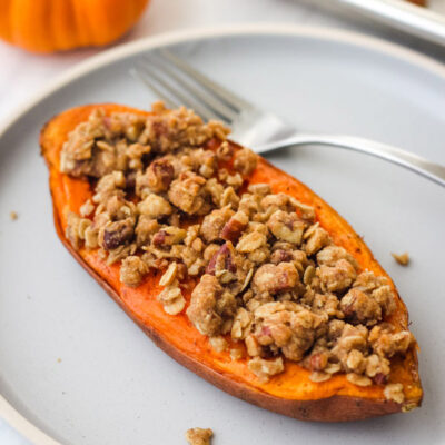 Streusel Topped Sweet Potatoes