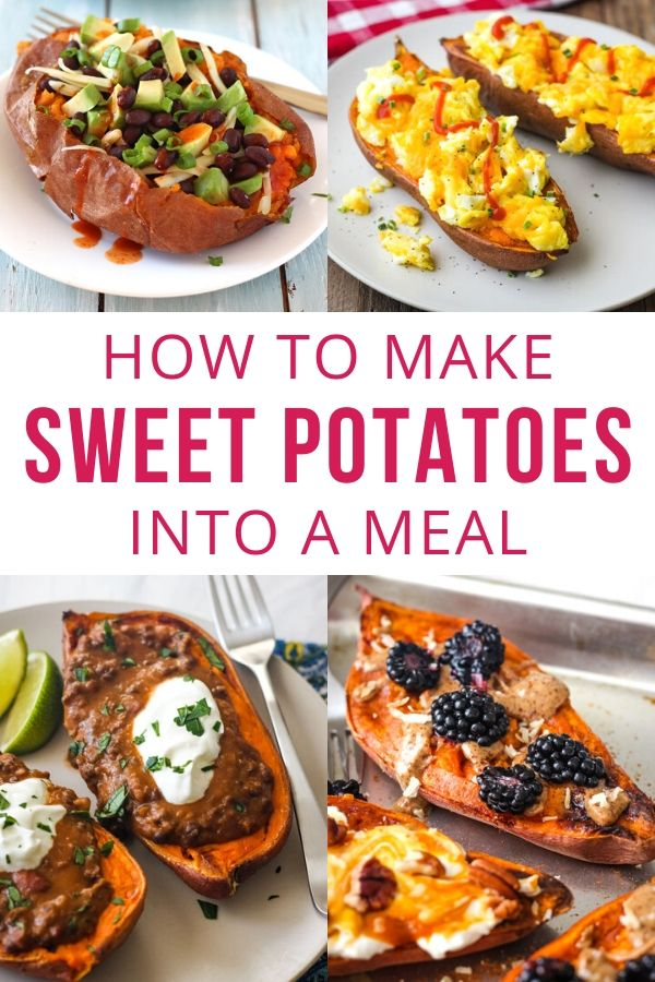 10 Quick And Healthy Baked Sweet Potato Toppings