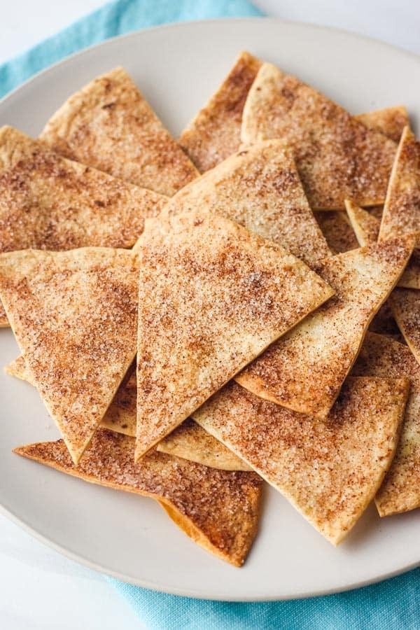 Toaster Oven Cinnamon Chips