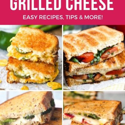 Toaster Oven Grilled Cheese Recipes