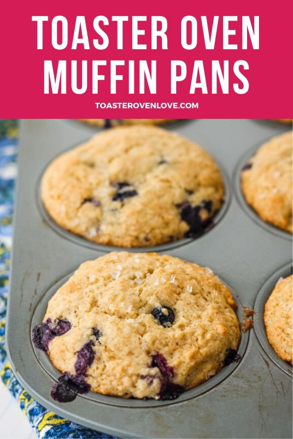 Toaster Oven Blueberry Muffins