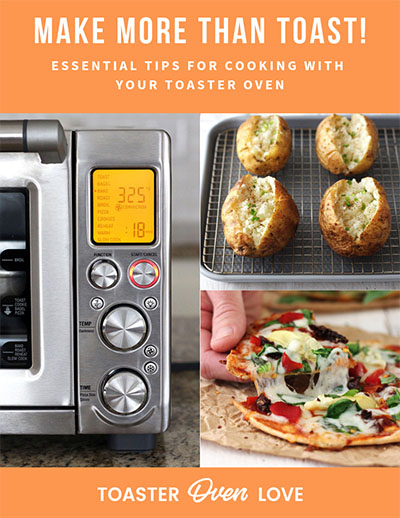 Ebook cover for toaster oven tips