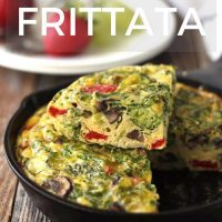Toaster Oven Frittata for Two