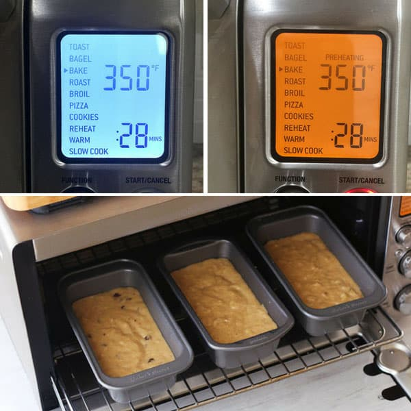 Preheating screen for the Breville Smart Oven Pro