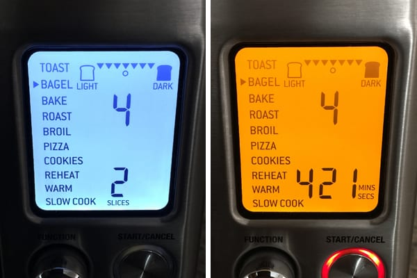 Bagel settings using a Breville Smart Oven Pro