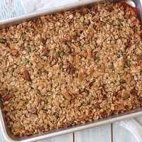 Maple Pecan Toaster Oven Granola