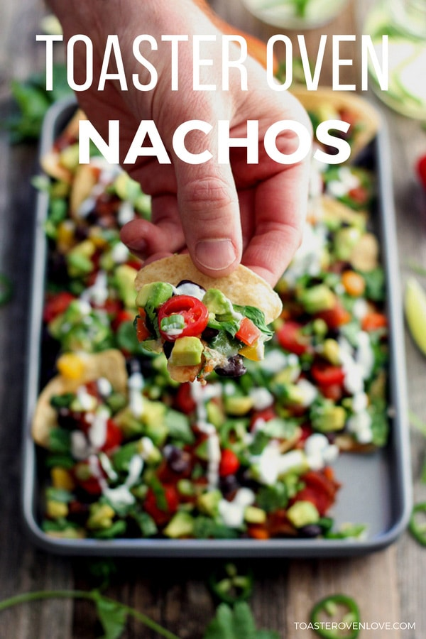 Toaster Oven Veggie Nachos